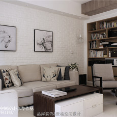 热门109平米三居客厅现代设计效果图