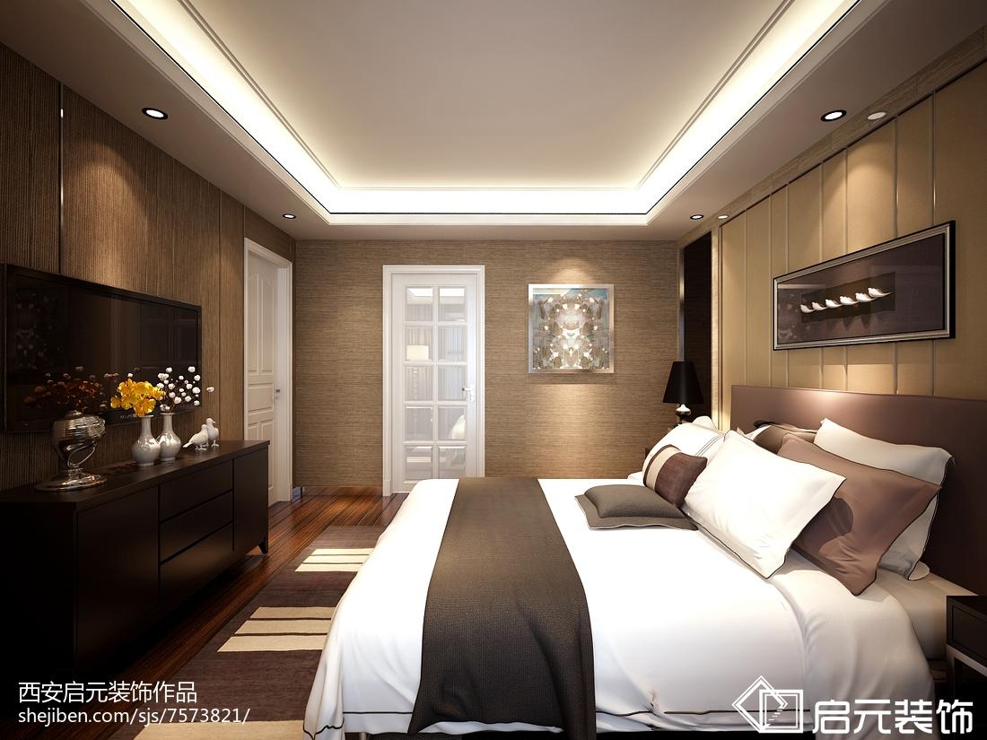 2018最新面积110平现代四居卧室欣赏图片大全