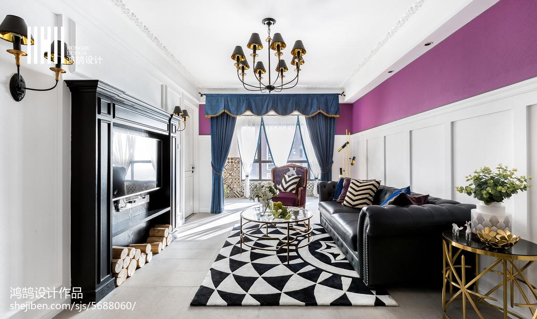 明亮56平美式二居装修美图