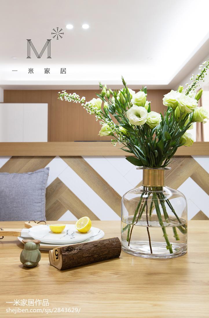 精选91平米三居餐厅现代装修效果图片大全