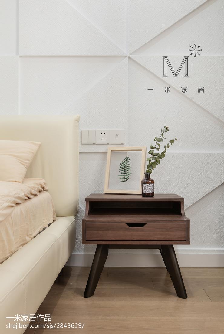 精选大小97平现代三居卧室装饰图片欣赏