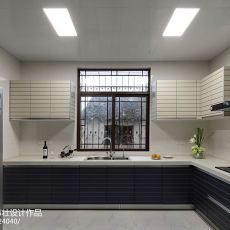 精美别墅厨房中式装修欣赏图