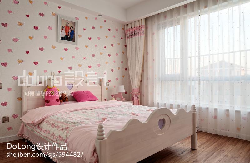 精美143平米四居儿童房美式效果图片欣赏