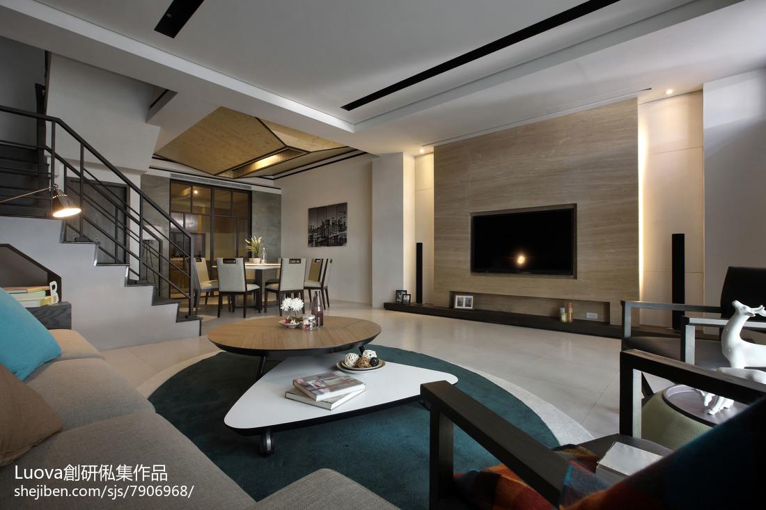 中式别墅电视背景墙