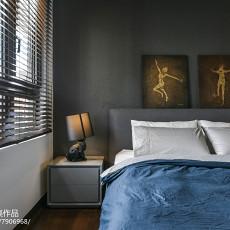 面积83平现代二居卧室装修图片大全