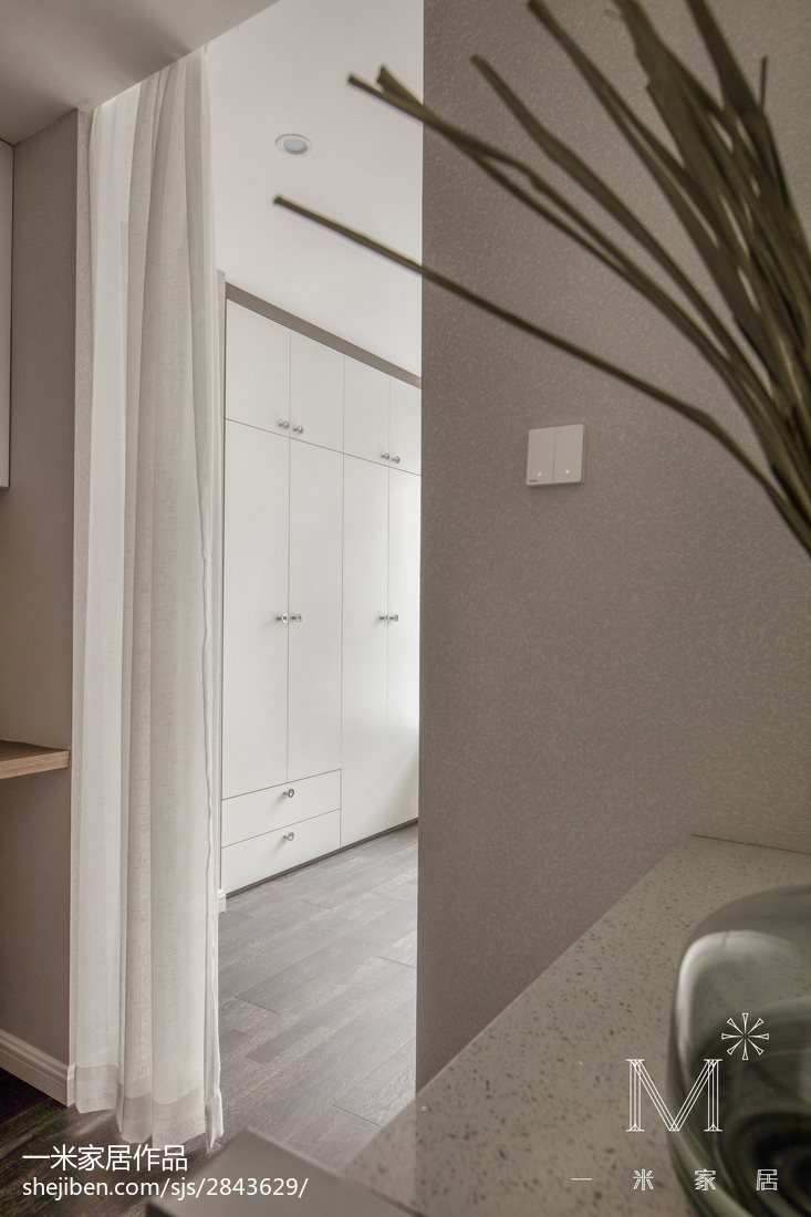 精美103平米三居卧室现代装修效果图