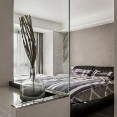 热门面积101平现代三居卧室装修图片欣赏