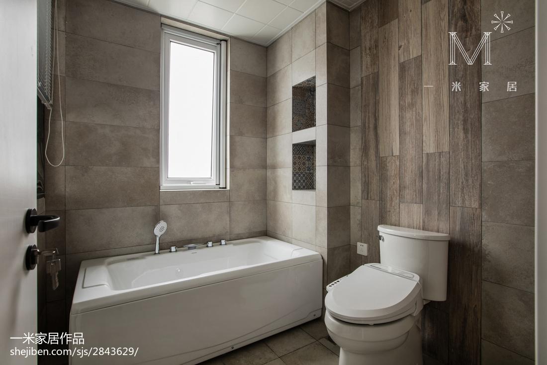 浪漫83平现代三居卫生间装修美图