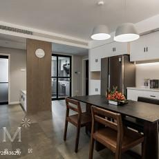 明亮120平现代三居厨房设计效果图
