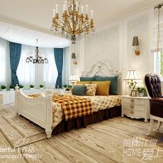美式风格客厅茶几图片
