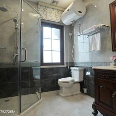 精美别墅卫生间美式实景图片