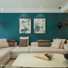 2018大小109平现代三居客厅装修欣赏图片