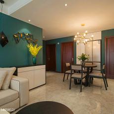 精美108平米三居餐厅现代实景图片