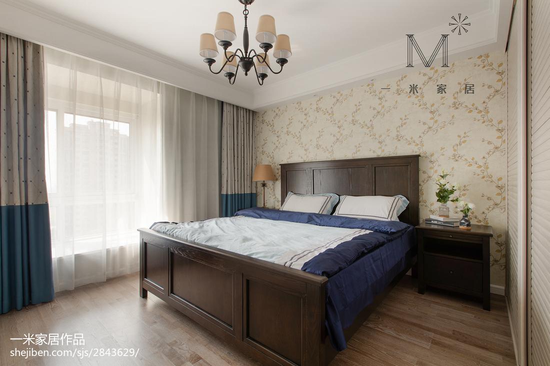 美式田园卧室装修效果图