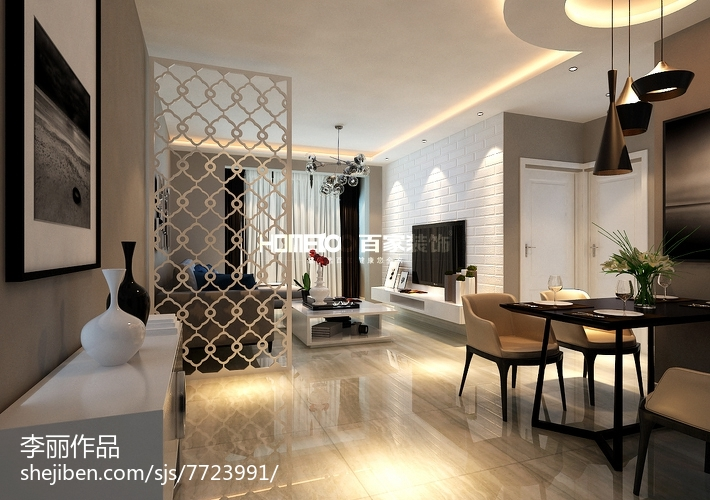 宜家中式装修二居室设计