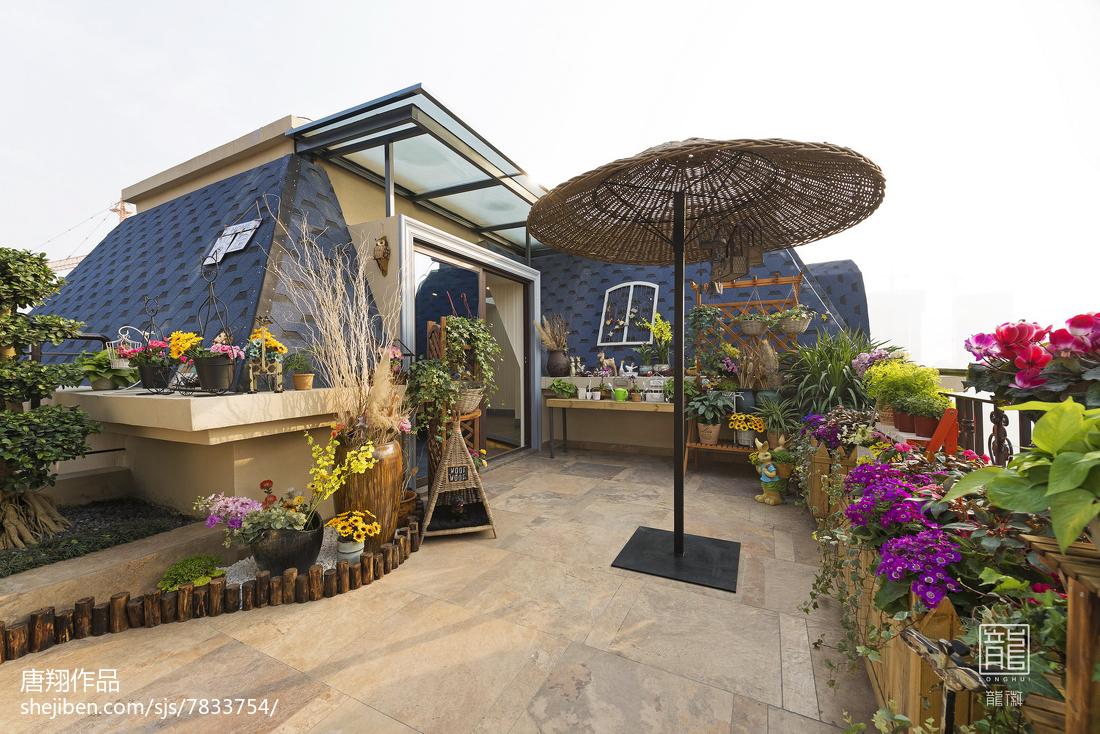 2018花园现代装修图片