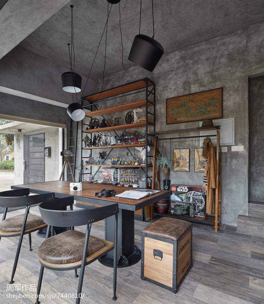 现代别墅休闲区装修图片