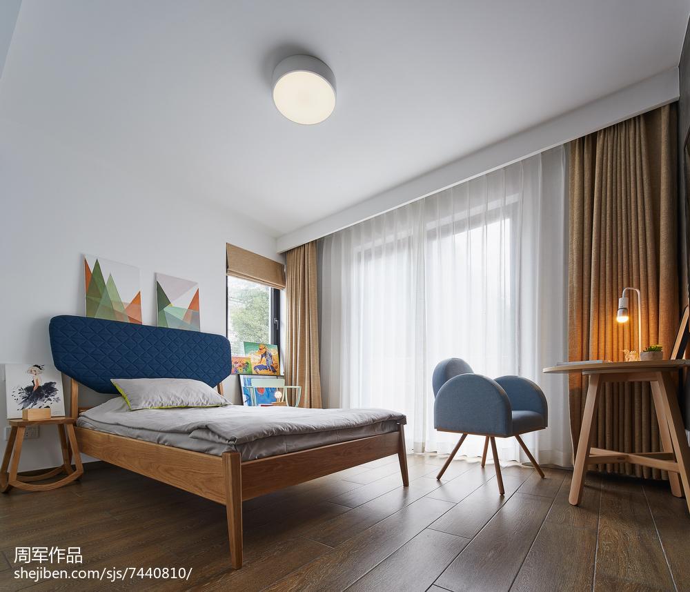 125平米现代别墅卧室装修图片欣赏