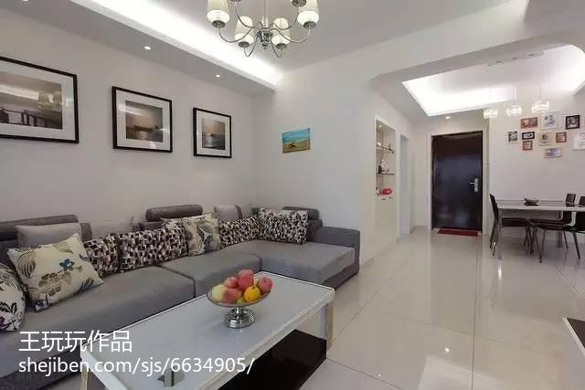 极简现代三居室装修案例