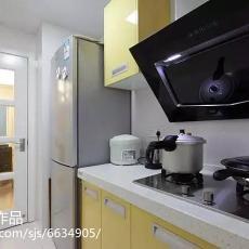 精美大小97平现代三居厨房装饰图
