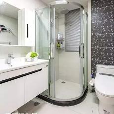 精选现代二居卫生间装修设计效果图片