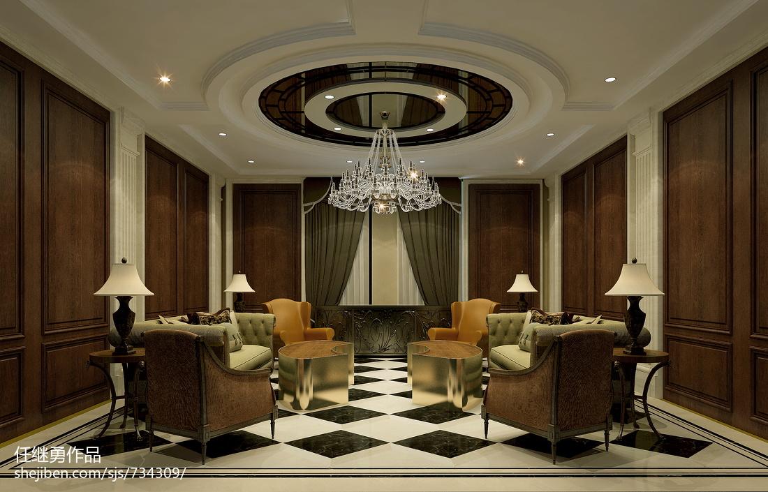 美式客厅装修设计图集