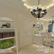美式家居狭长厨房设计