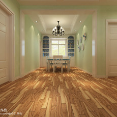 现代风格90平米两室两厅装修效果图
