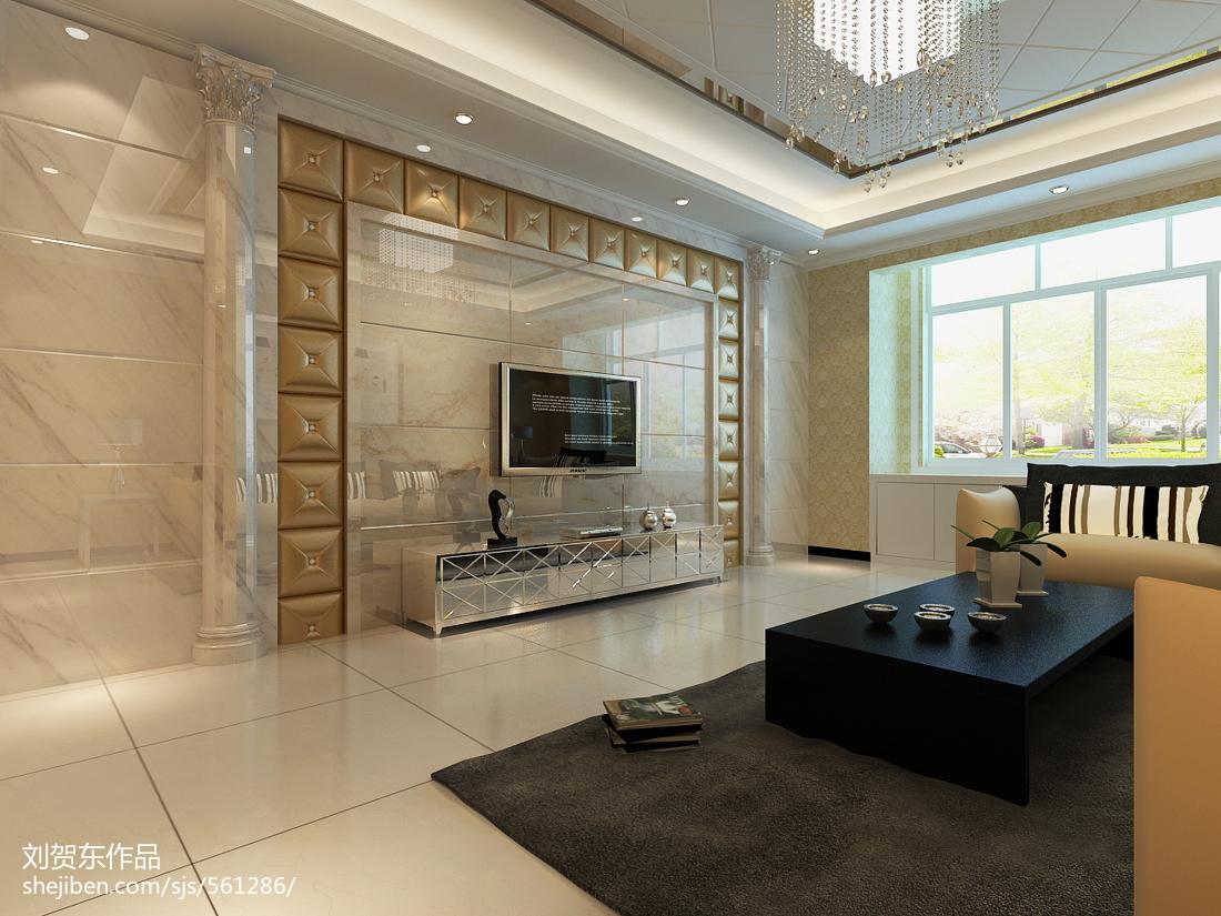 现代清新平和两居室装修效果图