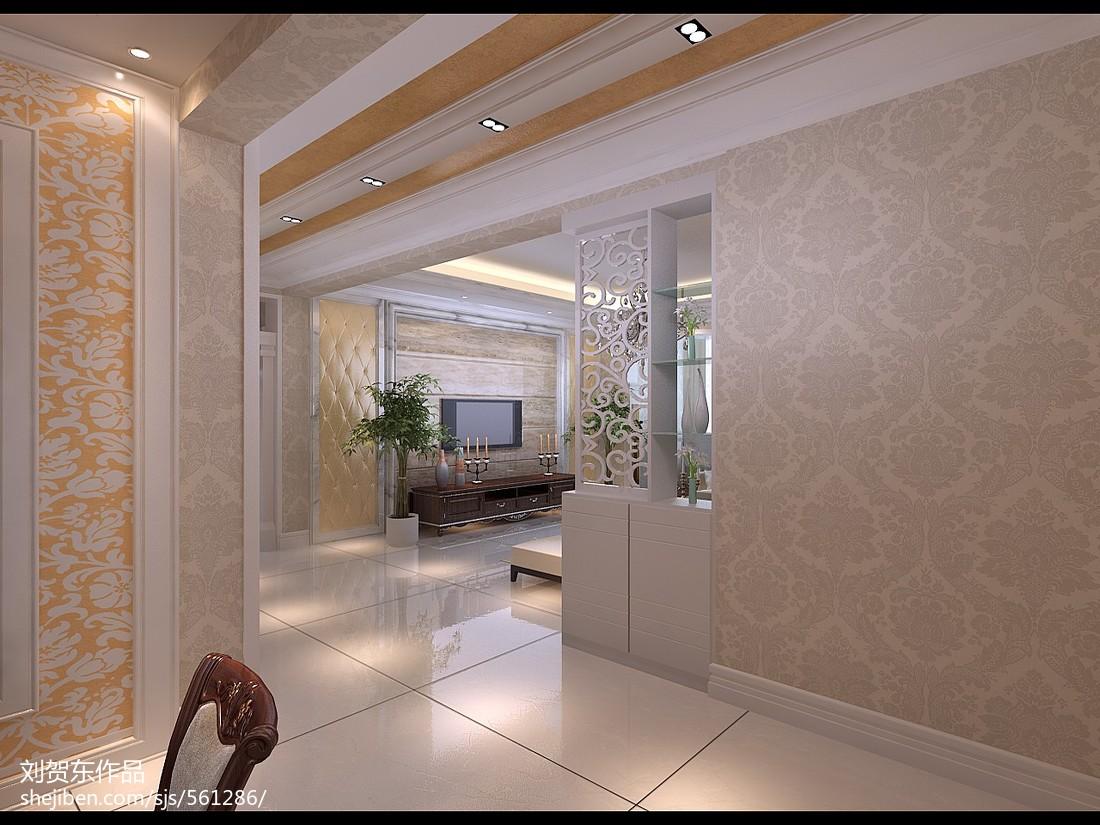 精选89平米二居休闲区现代装饰图片