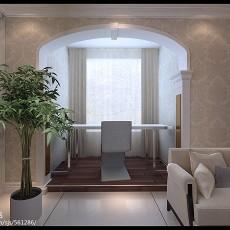 精选81平米二居客厅欧式装修图片欣赏