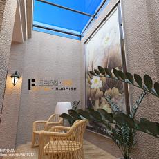 热门137平米美式别墅休闲区效果图