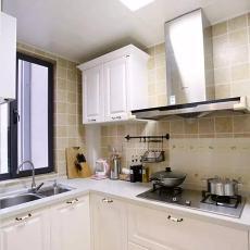 精美大小103平现代三居厨房效果图片欣赏