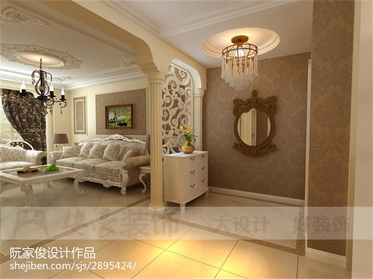 现代时尚客厅室内效果图片