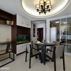 精美中式二居餐厅装修实景图片欣赏