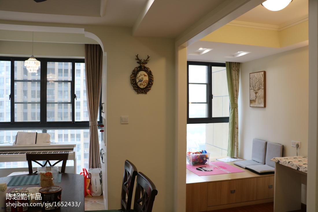 精选四居休闲区复古装修效果图片