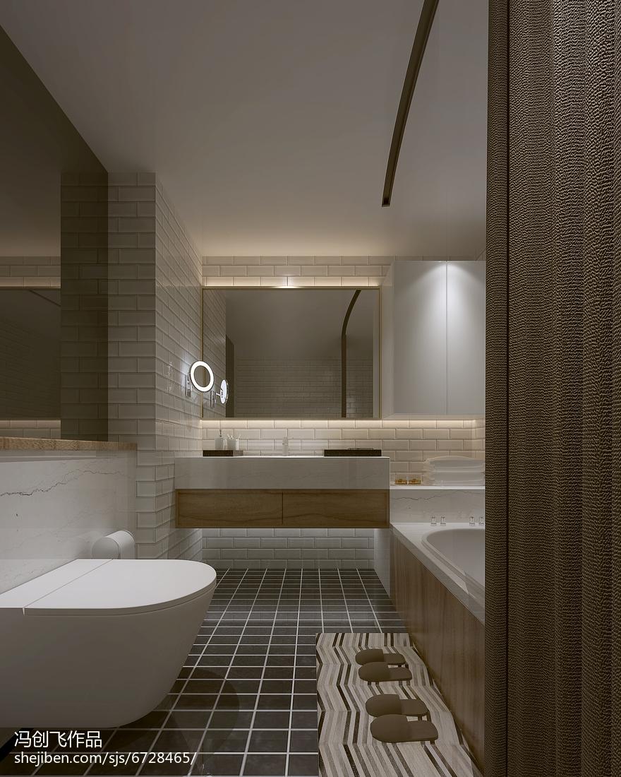 传统日式装修风格卫生间设计