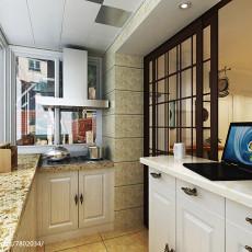 90平米现代两居室装修效果图