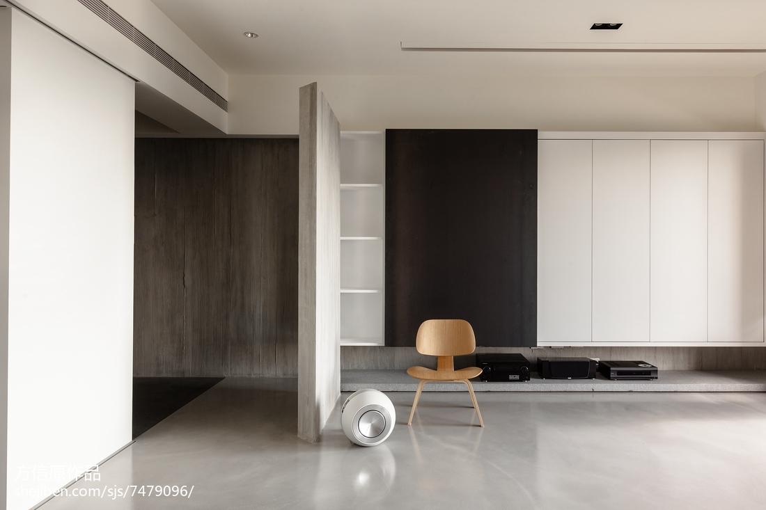 2018精选大小126平别墅客厅现代装修设计效果图片欣赏