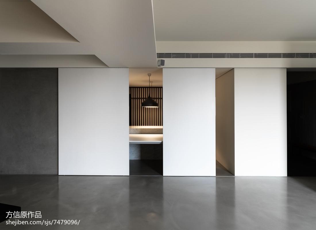 热门面积127平别墅餐厅现代装修图片