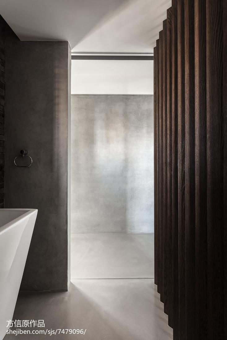 热门面积134平别墅卫生间现代装饰图片大全