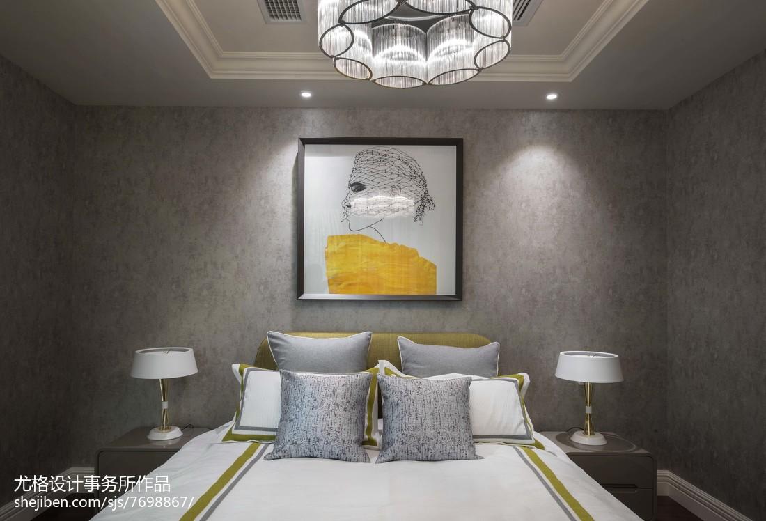 2018现代卧室实景图片