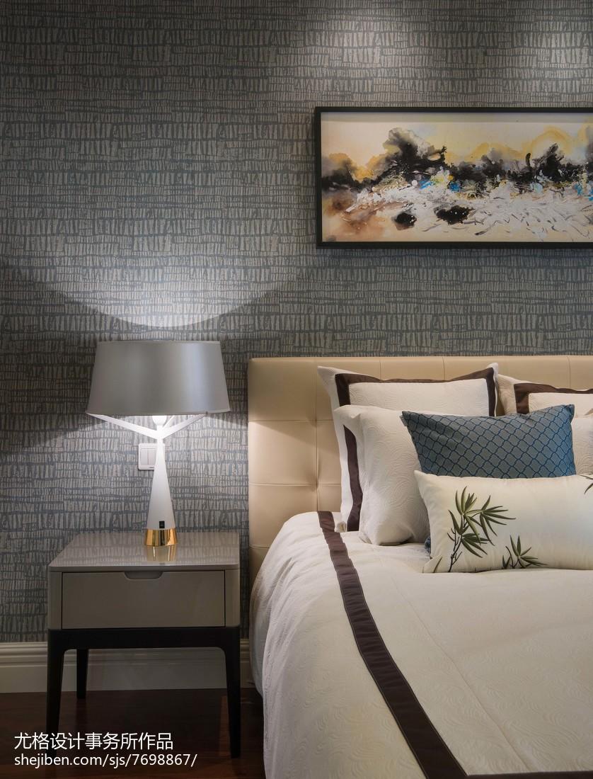 精美卧室现代实景图片欣赏