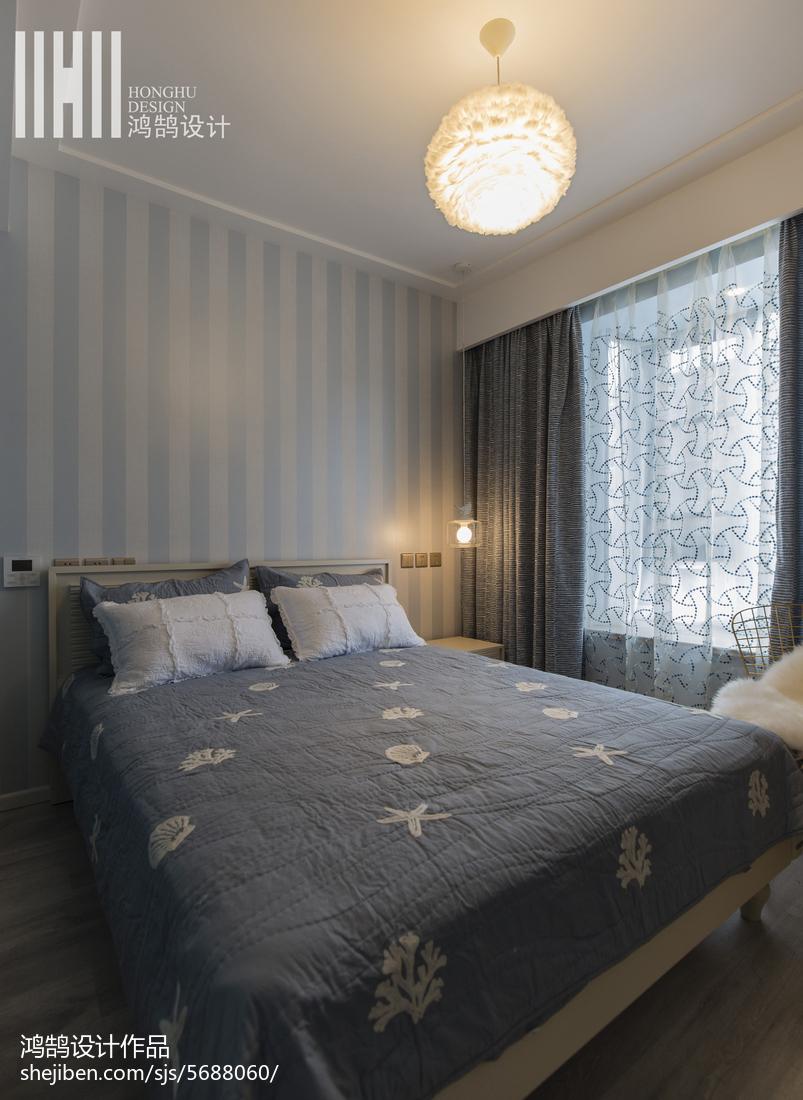 精致92平现代三居卧室效果图