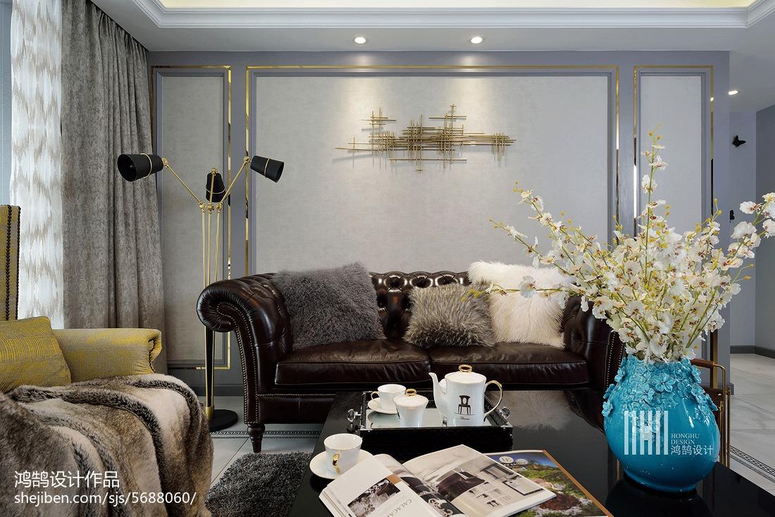 精选108平方三居客厅现代欣赏图片