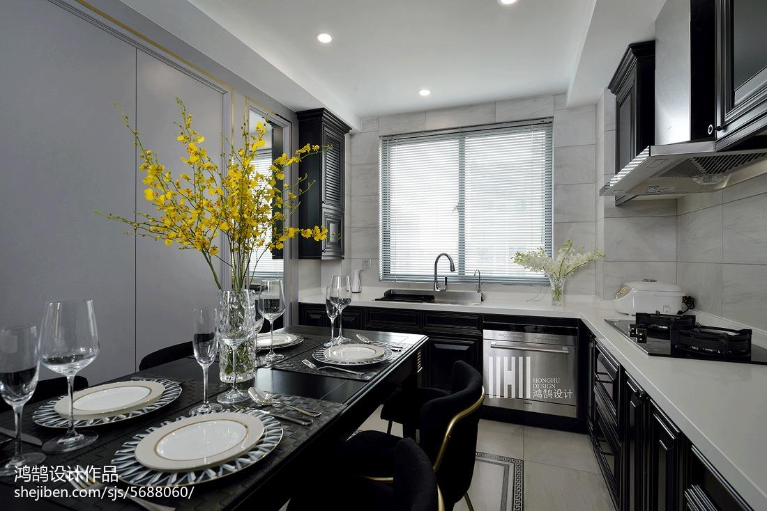 热门三居厨房现代装修欣赏图