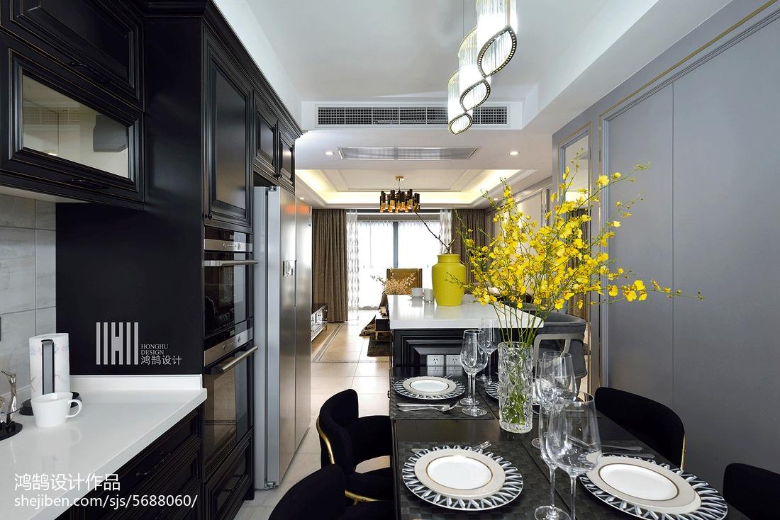 精选102平米三居餐厅现代实景图片欣赏