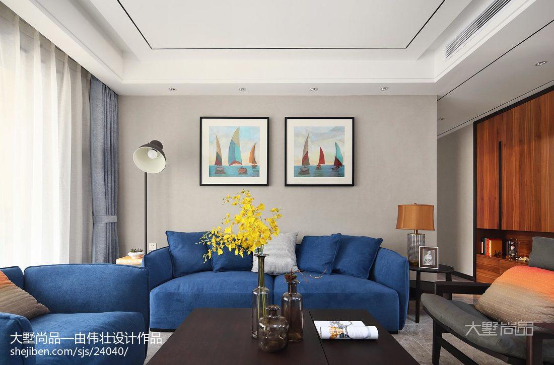 精选面积92平简约三居客厅装修图片欣赏