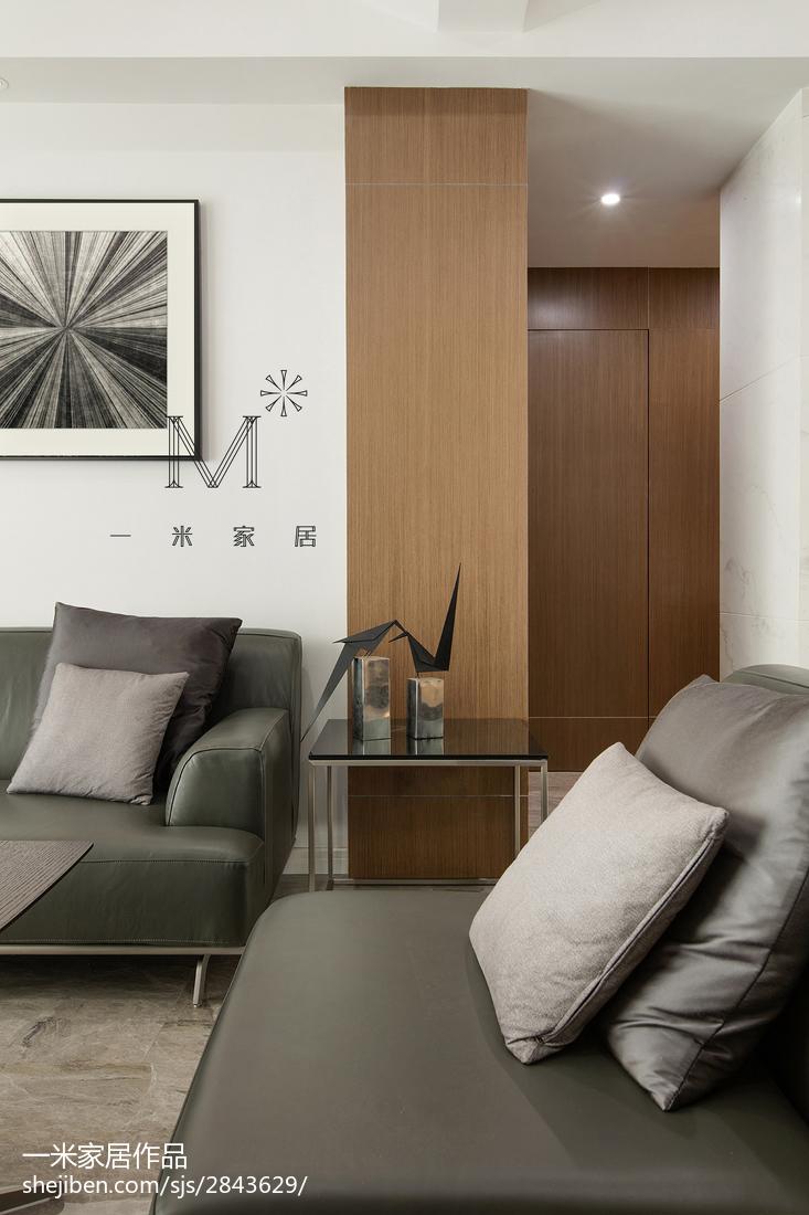 精选123平米现代复式客厅装饰图