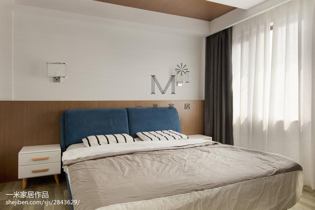 热门复式卧室现代装修设计效果图片